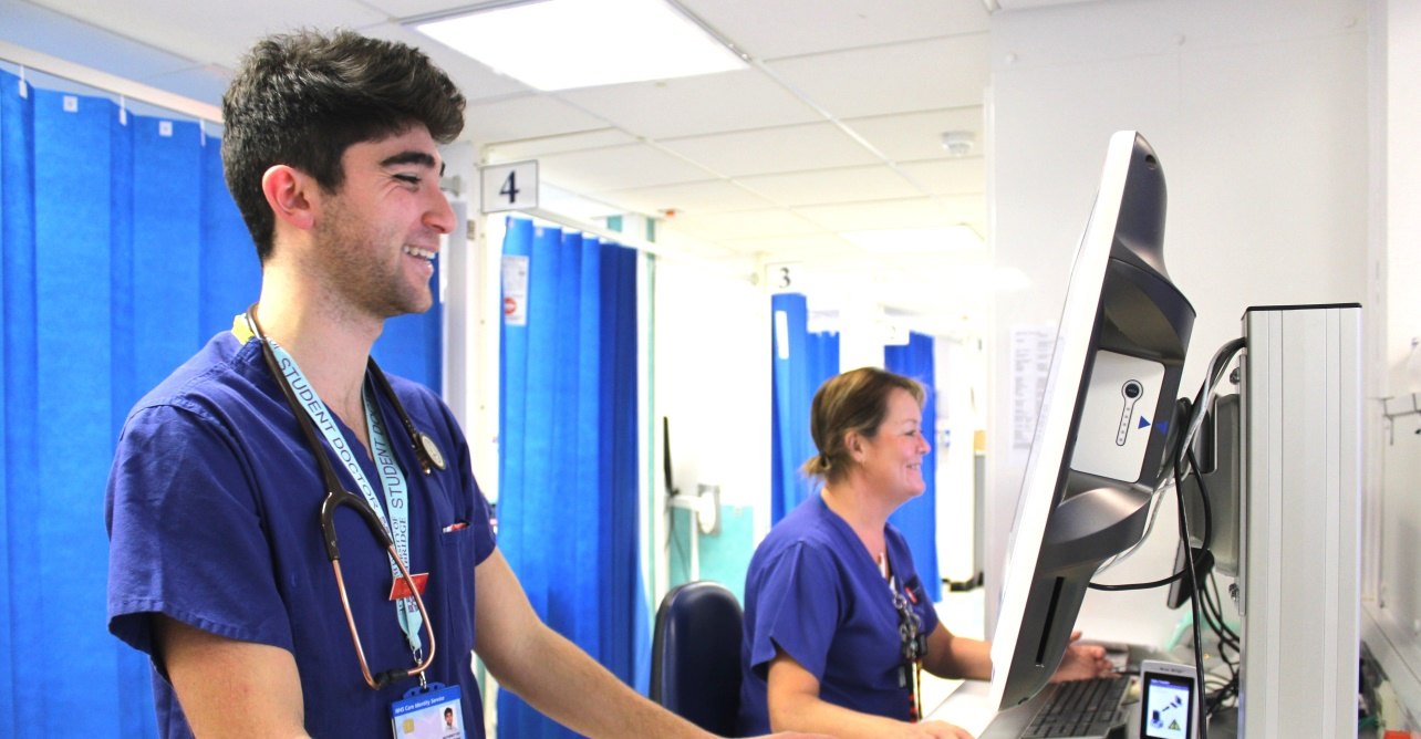 Staff in our emergency department, who are now able to easily and securely access clinical information on a patient that is held within Addenbrooke's electronic patient record system