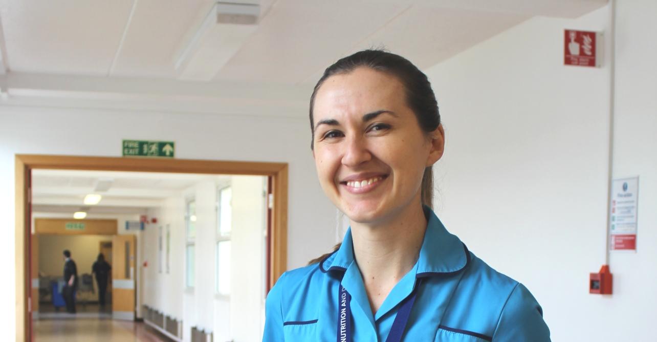Michelle Oatridge, community dietitian