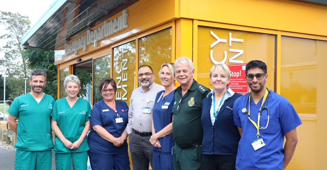 Our staff were highly rated in the CQC 2018 urgent and emergency care survey.