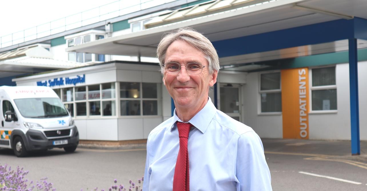Dr David O'Reilly, consultant rheumatologist
