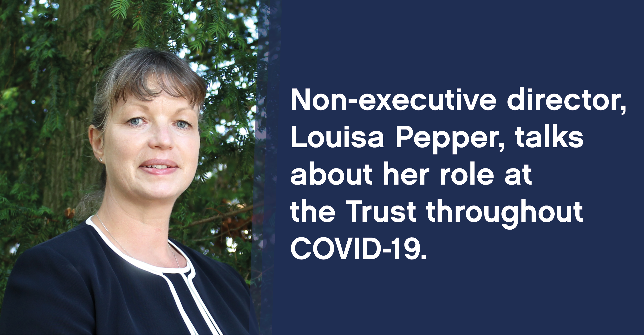 Louisa Pepper, non-executive director at the West Suffolk NHS Foundation Trust.