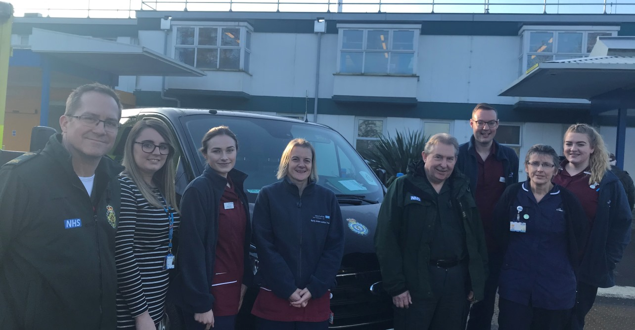 Our Trust and the East of England Ambulance Service Trust unite to support patients in their own home