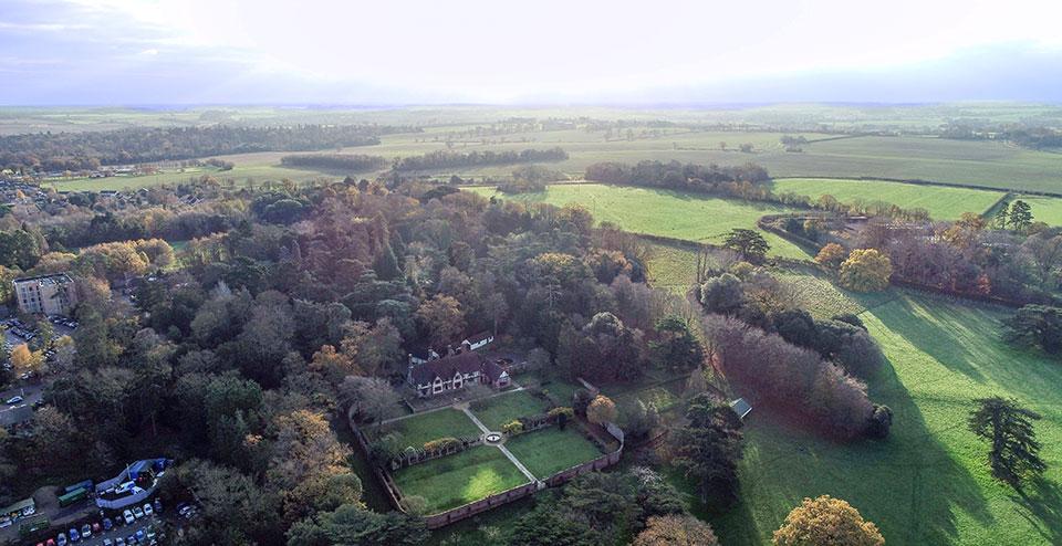 Part of the Hardwick Manor site