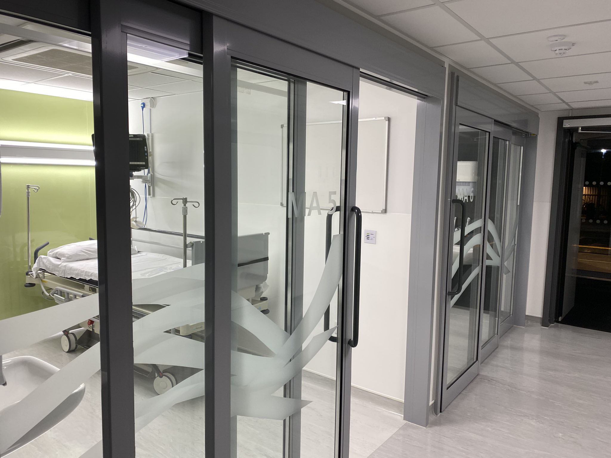 The new rapid assessment and treatment area