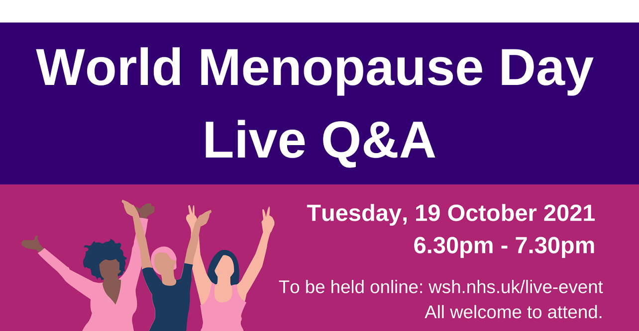 The event will provide key information about menopause as well as give attendees the chance to ask questions.